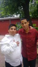 Javier Alvarez 24 años y Jose Alvarez 22 años. Llegaron al hogar en 2019. Hace 2 años.
